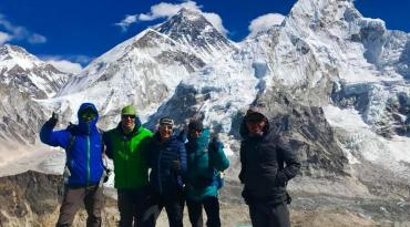 Everest Three Pass Treks With Everest Base Camp And Other Super 6 Dastination Over 5000M