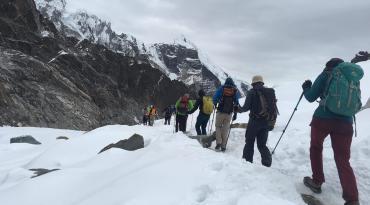 Khumbu Three Peaks Climbig/Nepal ( Island Peak (6165M),Lobuche Peak (6119M) and Pokalde Peak (5810M)